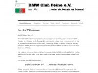 BMW Club Peine e.V.      ....mehr als Freude am Fahren!