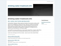 drinking-water-treatment.info