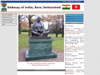 Indembassybern.ch - Embassy of India, Berne, Switzerland