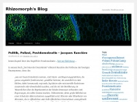 Rhizomorph's Blog | Just another WordPress.com site