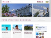 Merano Life Blog | Im Dialog – Storie & racconti – Engage in dialogue