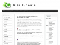 Klinik-Route - Home