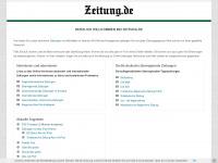 Zeitung .de - die Welt der Zeitungen -