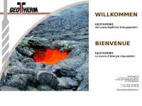 Geotherm SA  Willkommen bei Geotherm