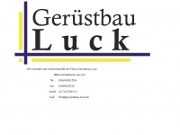 geruestbau-luck.de