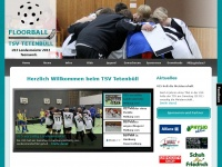 Floorball Tetenbüll - Home