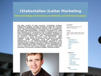 (Stabsstellen-)Leiter Marketing
