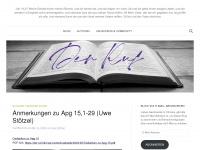 Der Ruf an die Gemeinde Christi - während dem grossen Abfall
