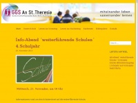 GGS An St. Theresia | Webseite der GGS An St. Theresia