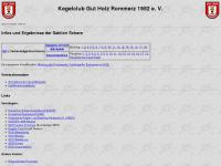 Kegelclub Gut Holz Rommerz 1952 e. V.
