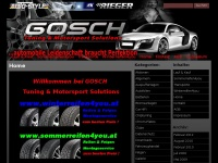 Gosch Tuning & Motorsport Solutions » Home