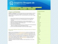 coupons-shopper.de Thumbnail