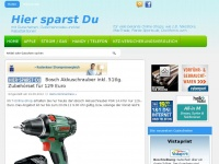 hier-sparst-du.de - mit Gutscheinen, Gutscheincodes und bei Rabattaktionen