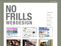 no frills webdesign