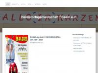 HOG-Roseln.de | Die Heimatortsgemeinschaft Roseln