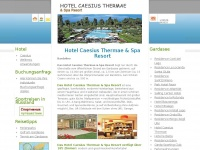Wellness am Gardasee im Hotel Caesius Thermae und Spa Resort in Bardolino buchen
