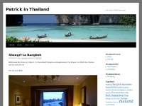 Patrick in Thailand | Just another Thailand travel blog