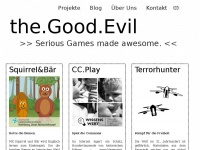 theGoodEvil.com - Serious Games made AWESOME.