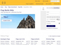 Flug.lufthansa.com - abmit der Lufthansa
