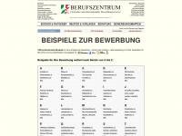 Bewerbung-beispiele.de - Bewerbung-Beispiele: 1000 aktuelle Beispiele für die Bewerbung in MS-Word