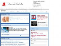 Johannes Apotheke - Ihre Apotheke in Molbergen