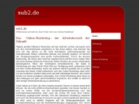 sub2.de - Webdesign und mehr....