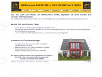 kronedasmassivhaus.de