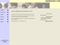 """Landeschor-nrw.de - Herzlich willkommen beim """"landeschor nrw"""""""