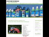 Joachim Buhmann Land und Baumaschinen Dettenhausen Tübingen