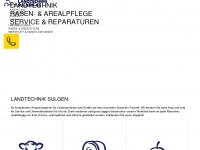 Willkommen bei Landtechnik Sulgen AG, Landmschinen, Traktoren und Motorgeräte