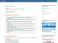 Thailand Informationen, Urlaub, Reise, Recht, Visa - Thai-Ticker