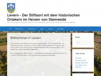 Levern - Das Online-Medium für alle, die sich für Levern und Stemwede interessieren