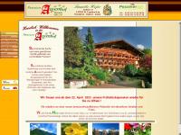 Südtirol Pension Alpenhof Passeiertal Hotel Meran Pensionen  Suedtirol wandern
