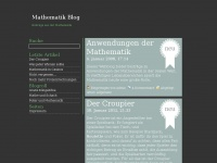Mathematik Blog