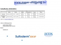 www.mayer-shopping.de