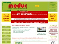 meduc - M&ouml;ckel Energie Dienstleistungen und Contracting