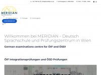 Sprachschule MERIDIAN - Deutschkurs Wien, Deutschkurs A1, A2, B1, B2, C1, Englisch lernen, Deutsch lernen, Russisch lernen | Professionelle Sprachschule für Deutsch, Englisch und Russisch