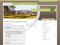 Willkommen auf mittelstrimmig.de | Gemeinde Mittelstrimmig / Hunsrück