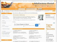 MixFactory Portal - Der Webkatalog f&uuml;r Ihre Seite
