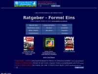 Ratgeber Formel 1 - Links und Infos zur Formel Eins