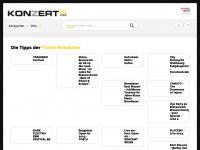 Konzertkasse – Konzertkarten, Tickets und Eintrittskarten für Musicals, Konzerte, Festivals im Vorverkauf!