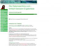 Die Datemaschine.com - einfach bessere Ergebnisse