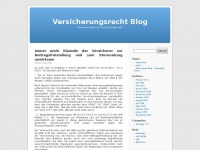 versicherungsrecht-blog.de
