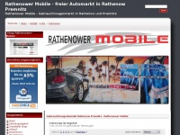 Gebrauchtwagenhandel Rathenow Premnitz - Rathenower Mobile - Rathenower Mobile - freier Automarkt in Rathenow  Premnitz