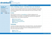 Direktbank: Konto, Geldanlage, Sparen