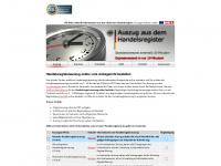Handelsregisterauszug online vom Amtsgericht bestellen - Auszug
