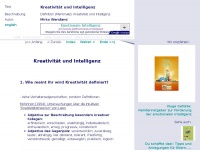 intelligenz-kreativitaet.de