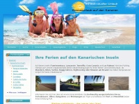 Sonnenurlaub-Kanaren - Suche nach Ihrem Wunschurlaub auf den Kanarischen Inseln, Fuerteventura, Teneriffa, Gran Canaria, La Gomera, La Palma, Lanzarote