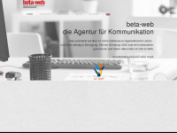 beta-web | Agentur für Kommunikation