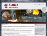 metallbau-blume.de